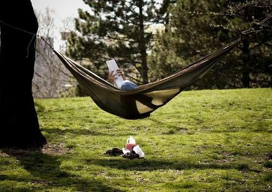 Homemade hammock