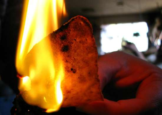 Use Chips for a DIY Firestarter