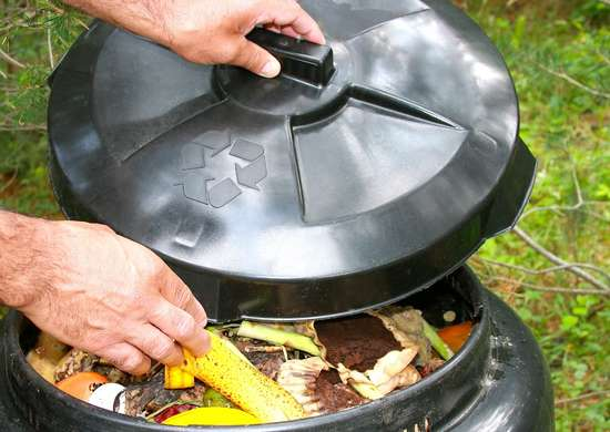 Speed up composting