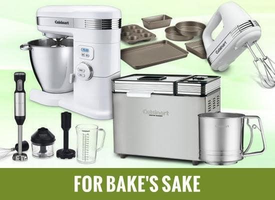 For bakes sake