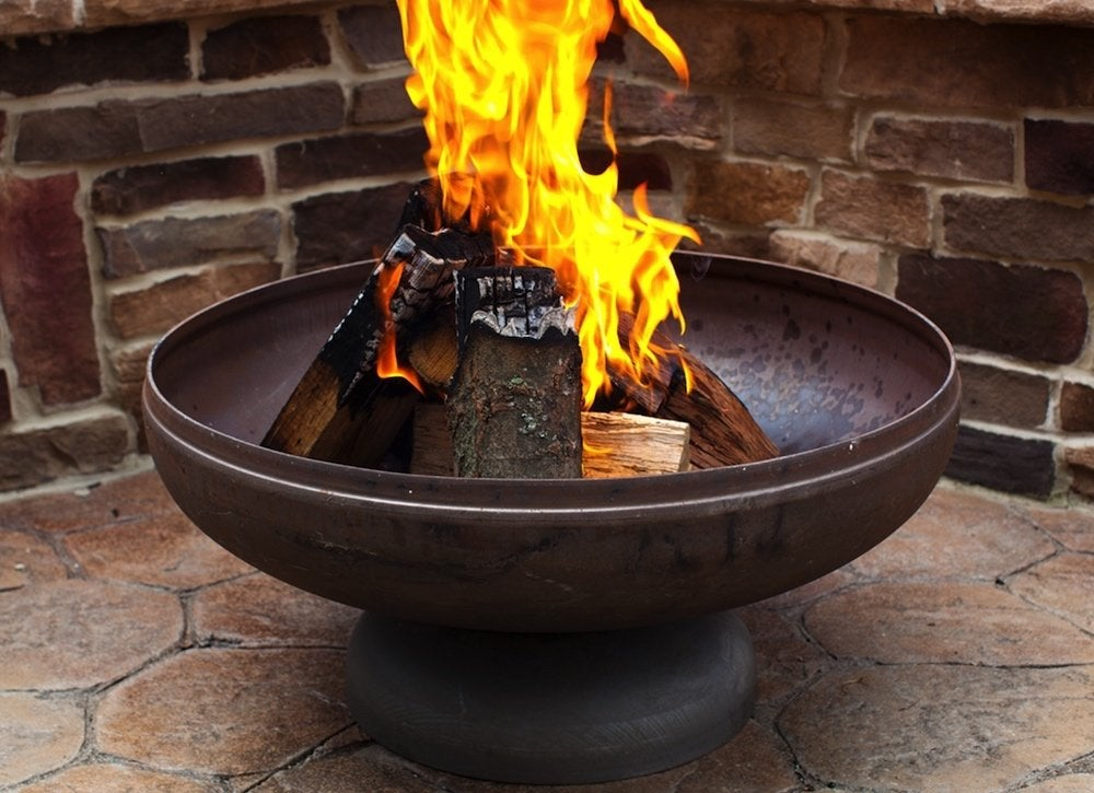 American made fire pit