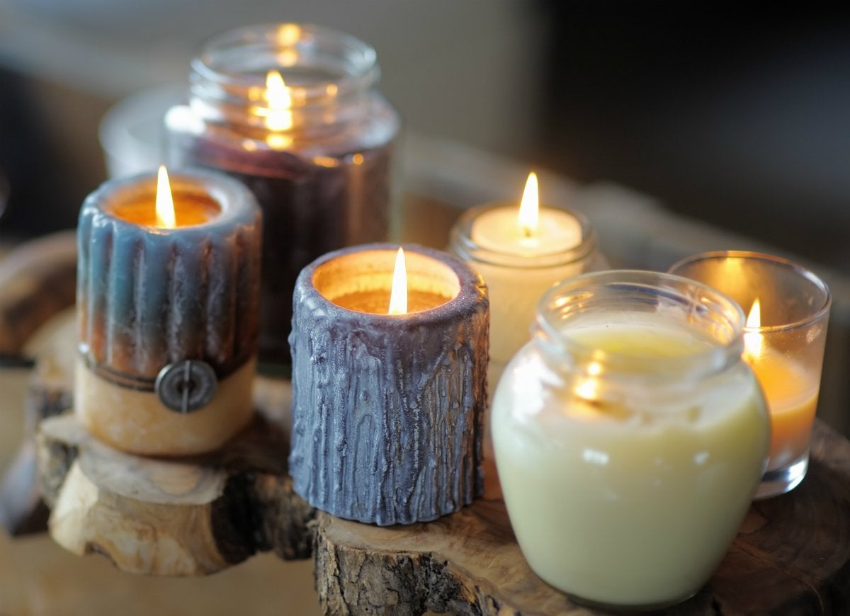 Scented candles diffusers