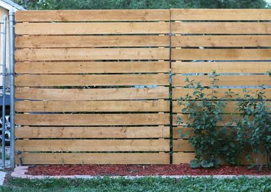 Home hacks 21 ideas just crazy enough to work bob vila for Wood screen fence