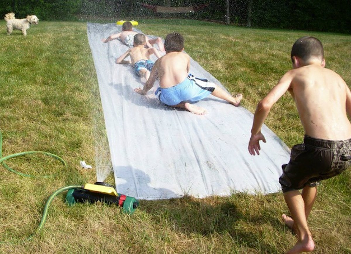 Diy-slip-n-slide