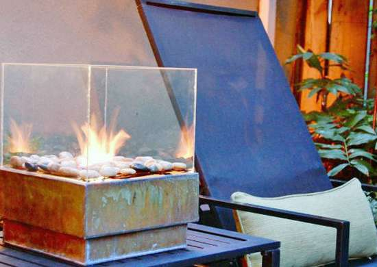 DIY Tabletop Firepit