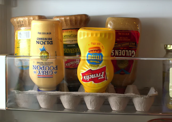 Diy kitchen fridge condiment hack