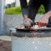 DIY Washing Machine Firepit