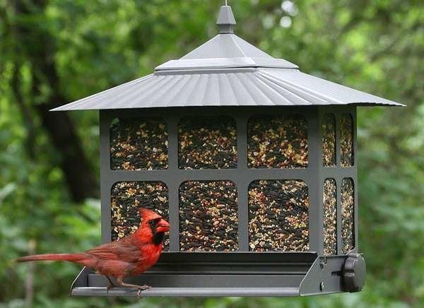 Metal Bird Feeders