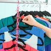 Fit More in Your Closet with Plastic Chains