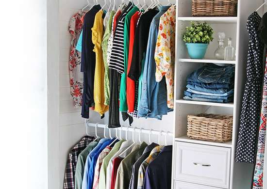 21 Big Ideas For Small Closets