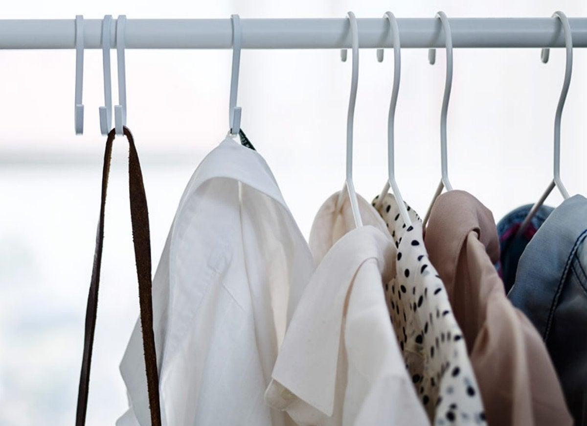 S hook diy closet storage