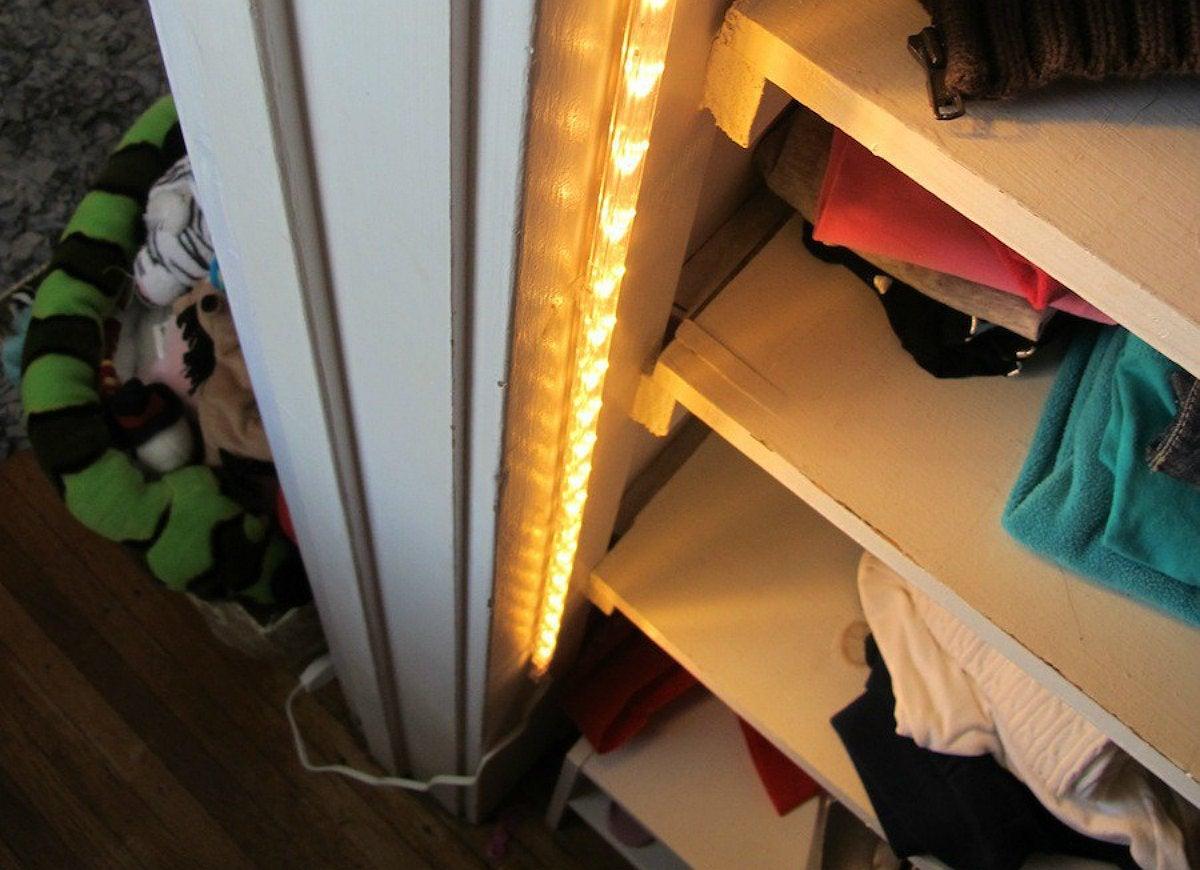 Add closet lighting