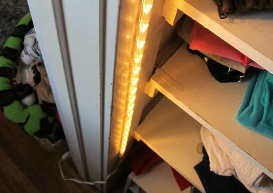 Add closet lighting