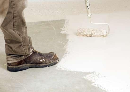 Basement floors epoxy