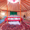Mongolian Yurt on Airbnb