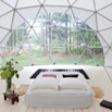 Geodesic Dome on Airbnb