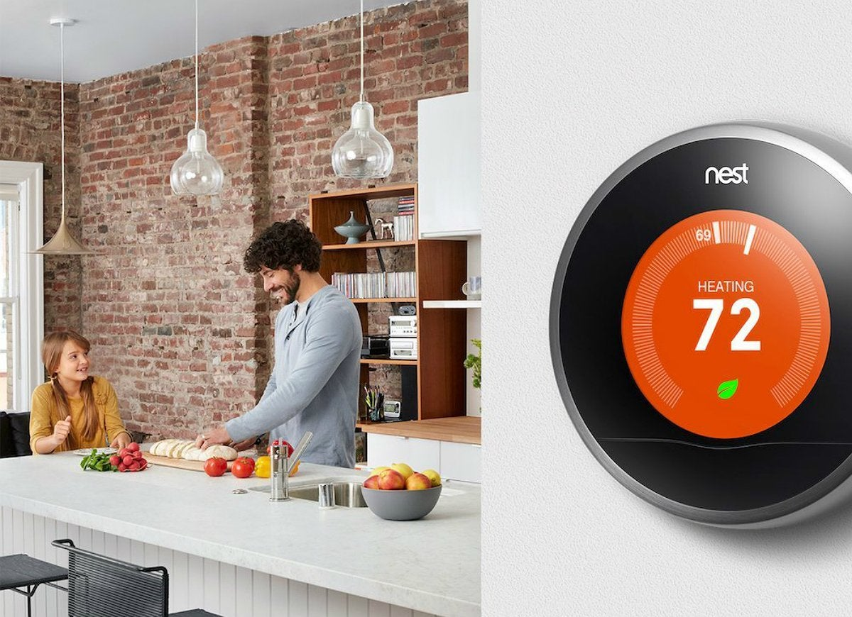Nest learning thermostat to save on summer bills
