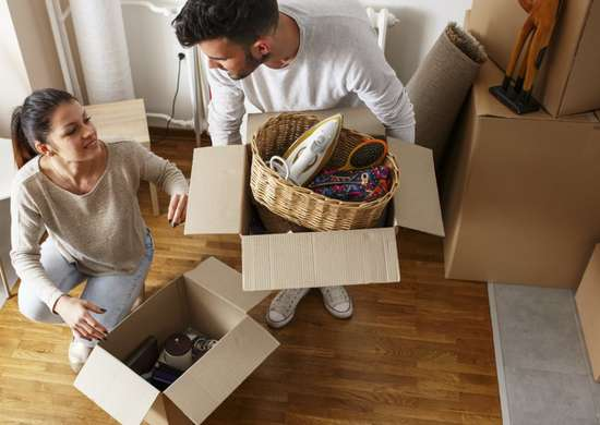 Get free moving boxes