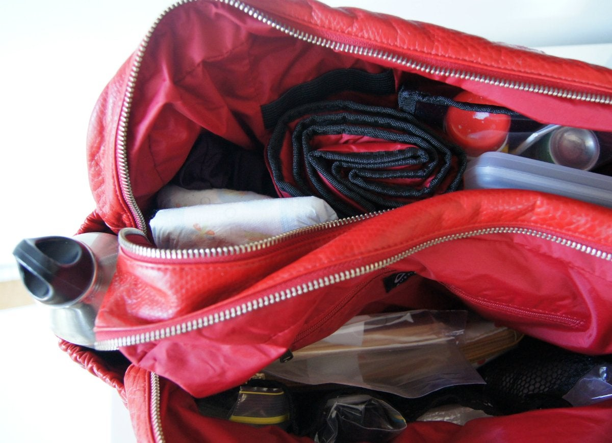 Pack an essentials open first bag box