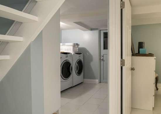 Circulate cooler basement air
