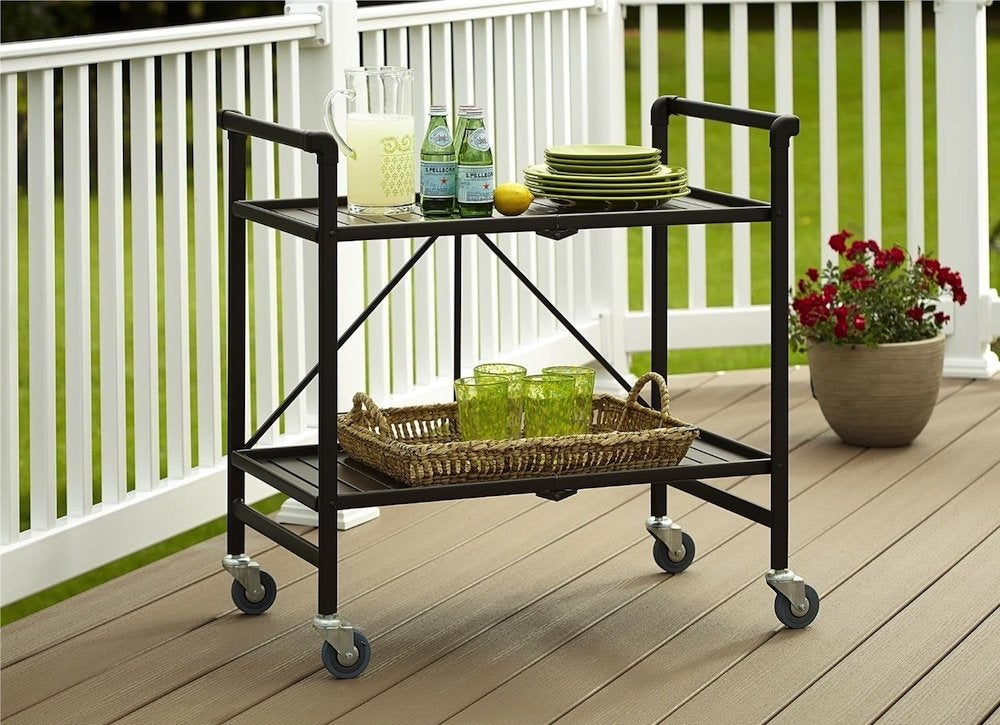 Serving-cart