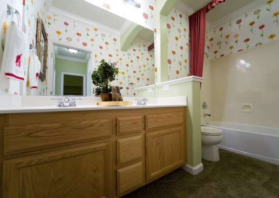 Bathroom-carpeting