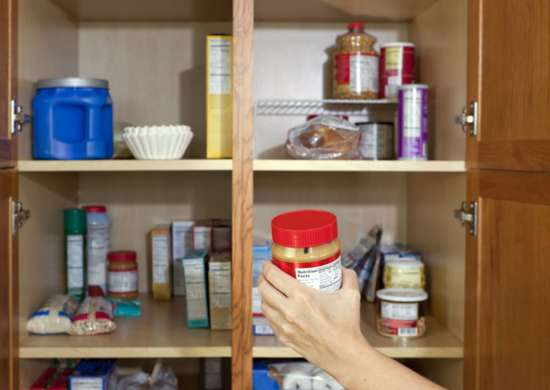 Cleaning organizing pantry