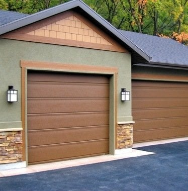 Martingaragedoorsoregon flushline steel garage doors
