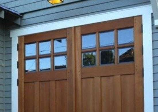 Realcarriagedoors wood garage doors