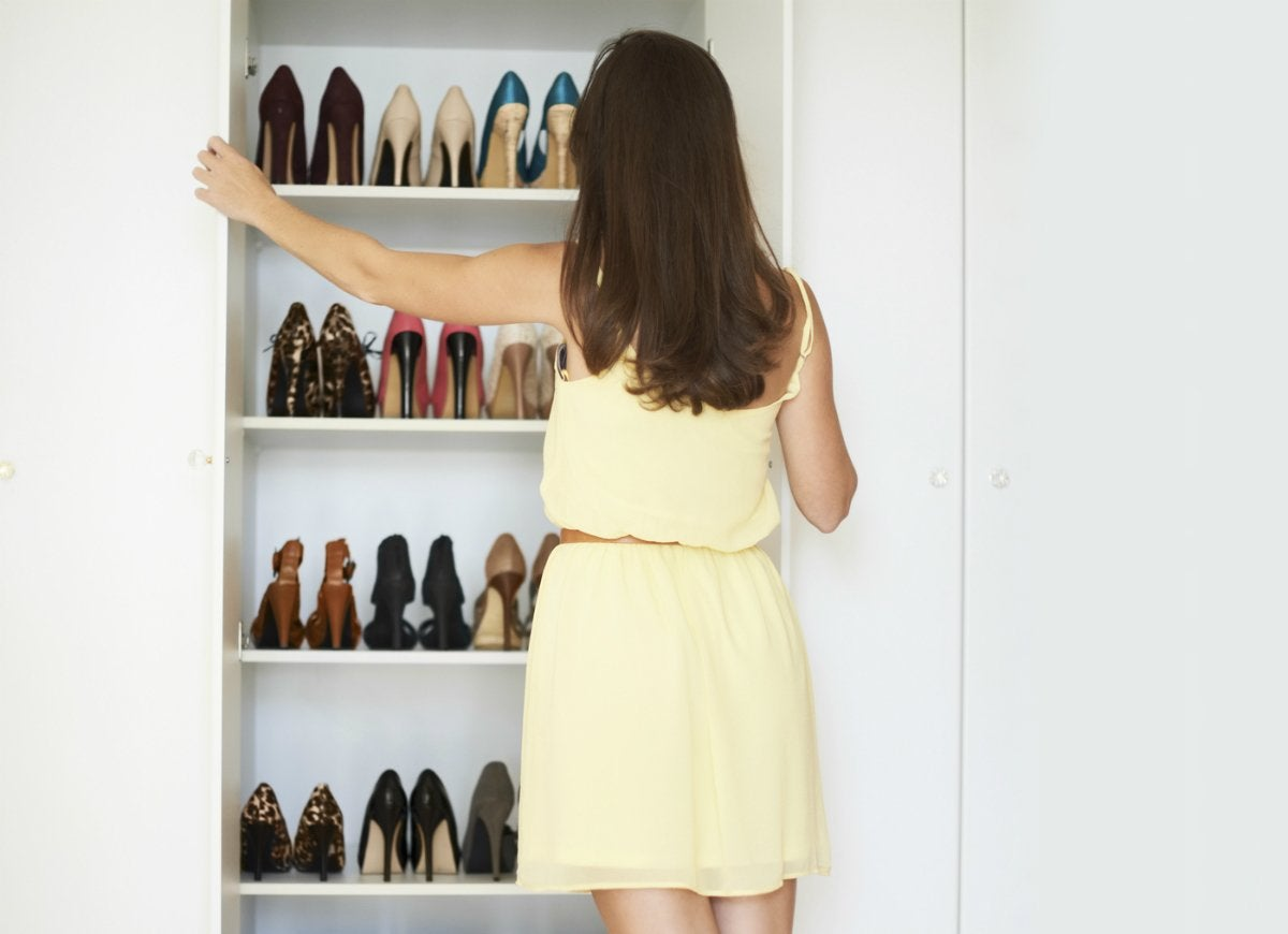 Look inside closets