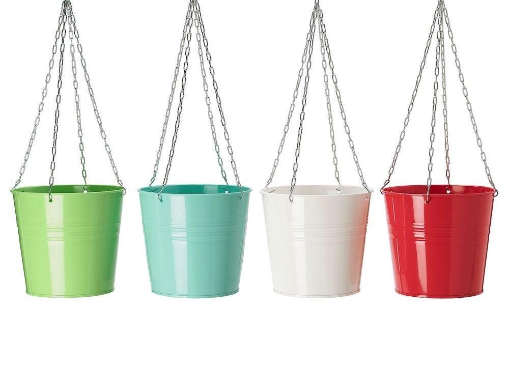 Ikea hanging planters