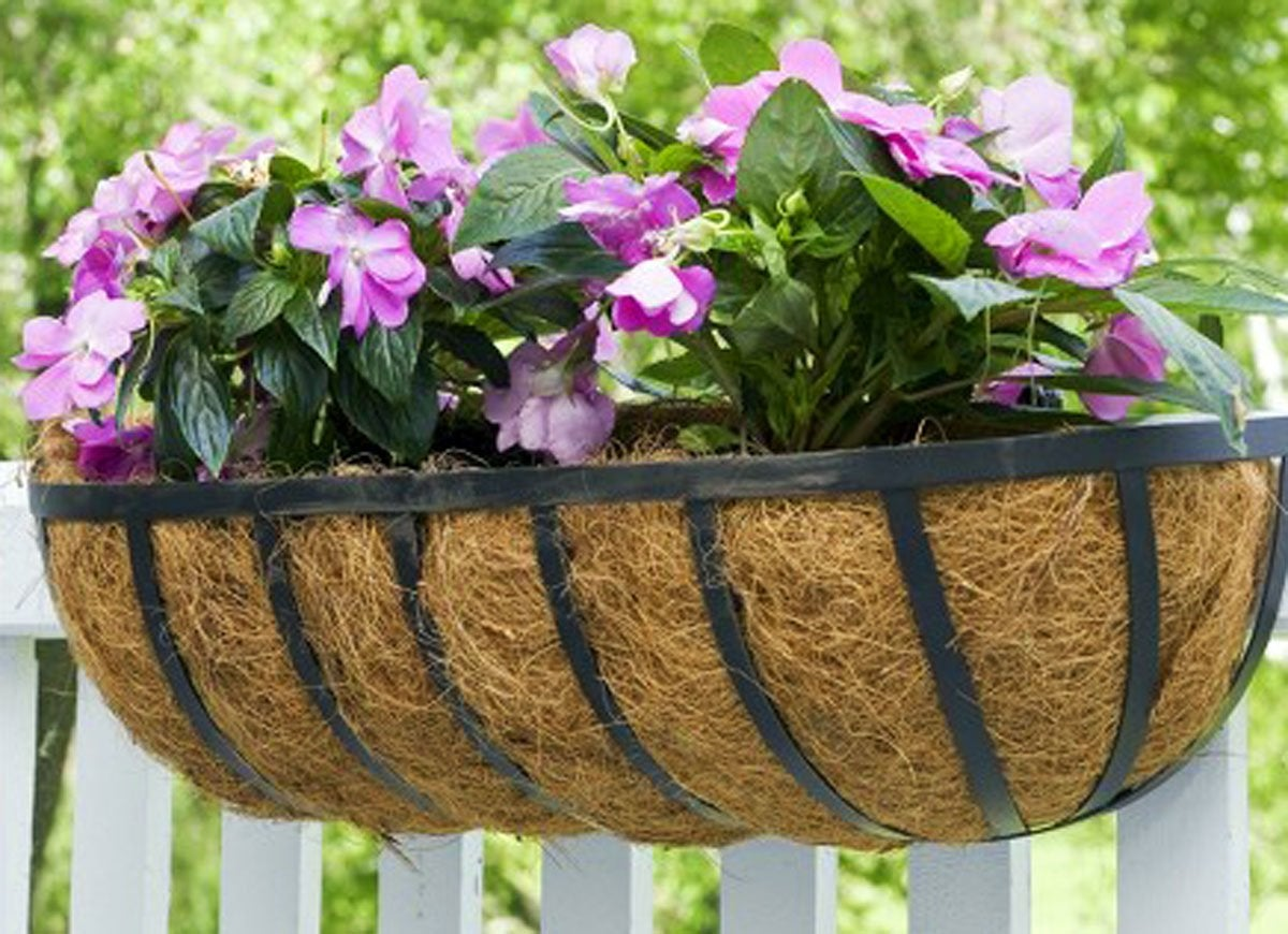 Horse trough planter