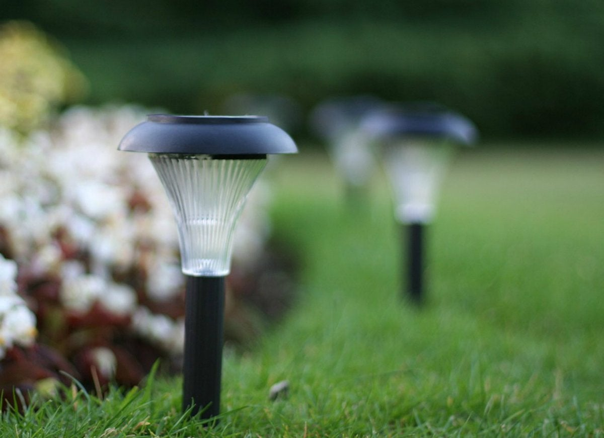 Gardenjoy solar lights curb appeal ideas for under 50 - Better homes and gardens solar lights ...