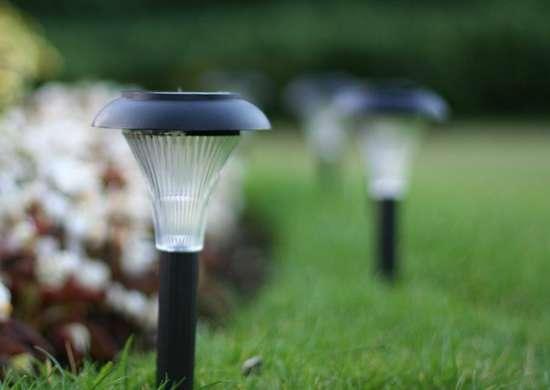 Gardenjoy solar garden lights