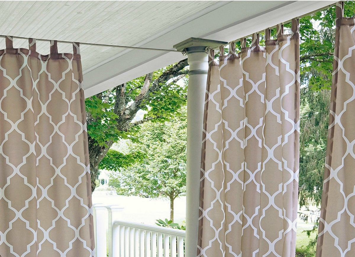 Elrene corado outdoor curtains