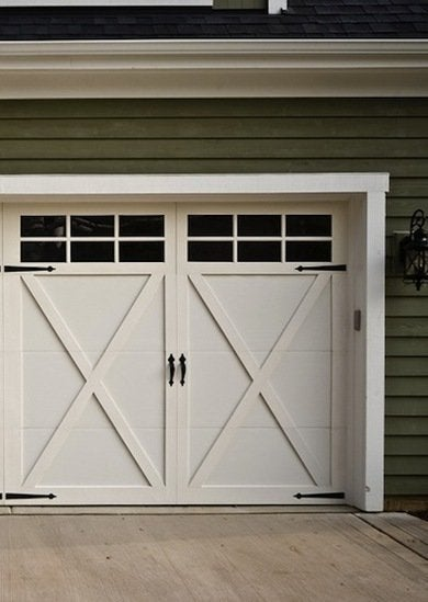 Carriage standarddoor