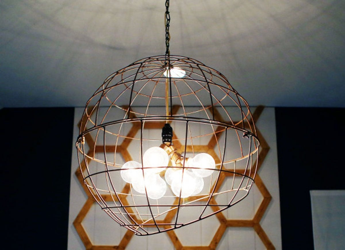 Diy pendant light