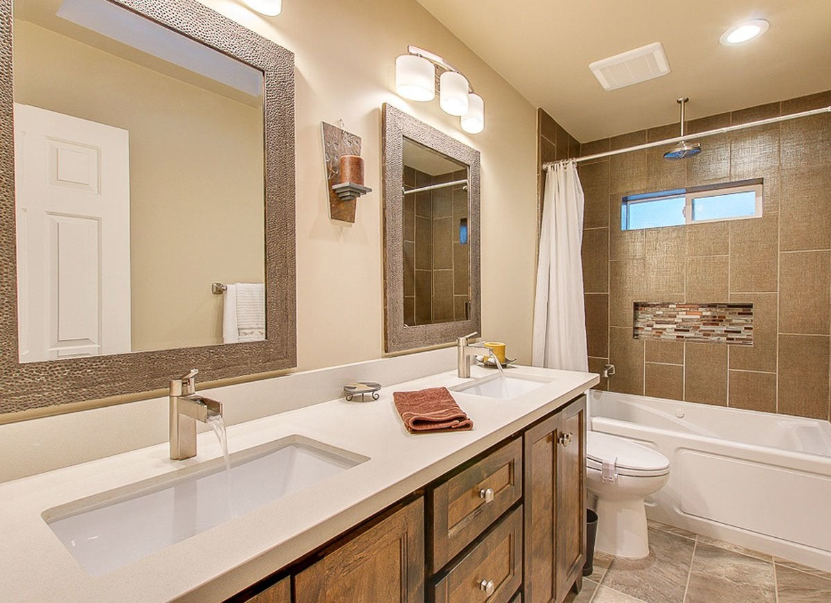 Bathroom Lighting Update update bathroom lighting - room remodel - 15 you can do in a day