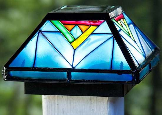 Solar Light Post Cap