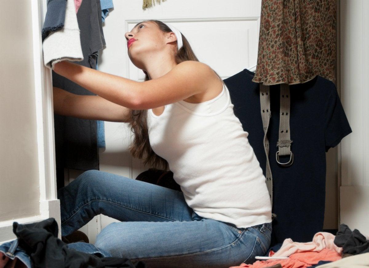 Clean closets