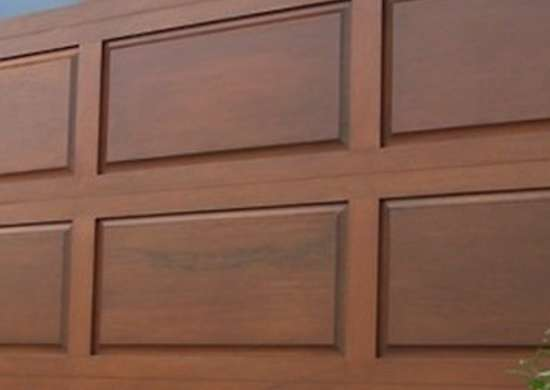 Raised panel wood gdi