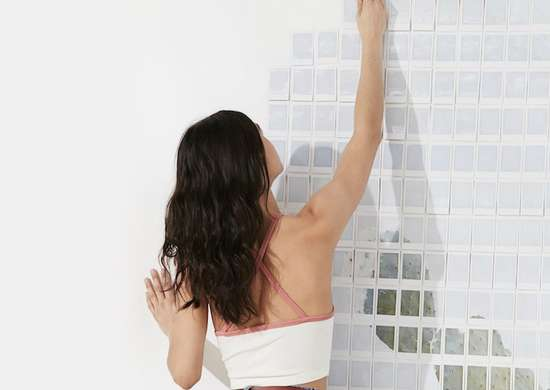 New twist gallery wall