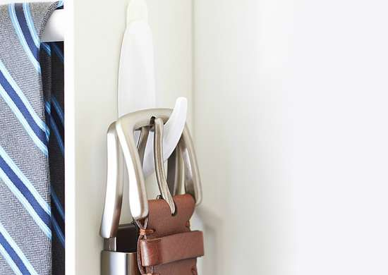 Removable wall hook storage