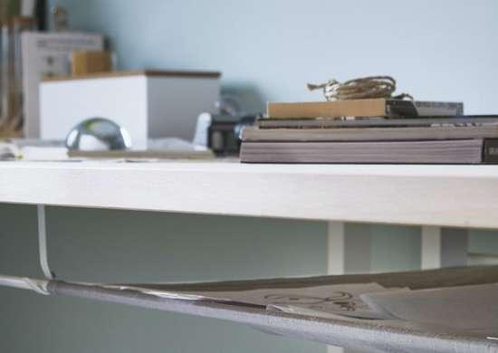 Add Space Under Your Desk