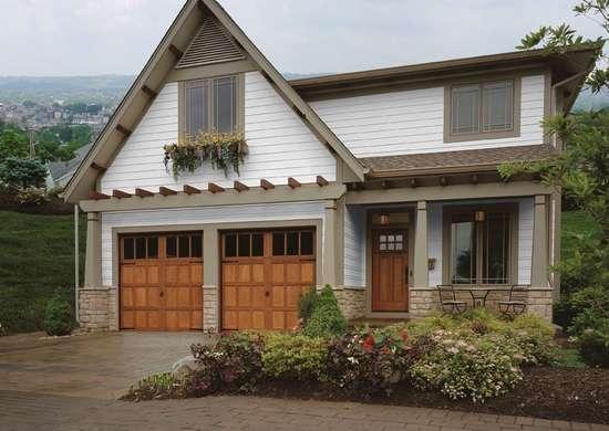 After beautiful garage door makeovers bob vila for Beautiful garage doors