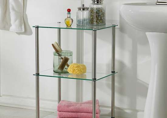 Three-Tier Glass Shelf from Target