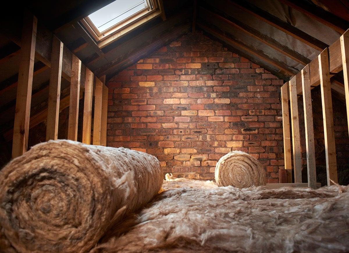 Insulation attic