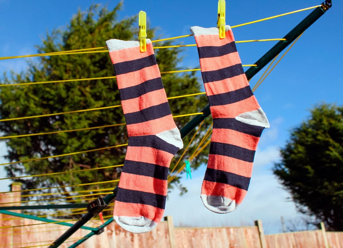 Socks-clothesline