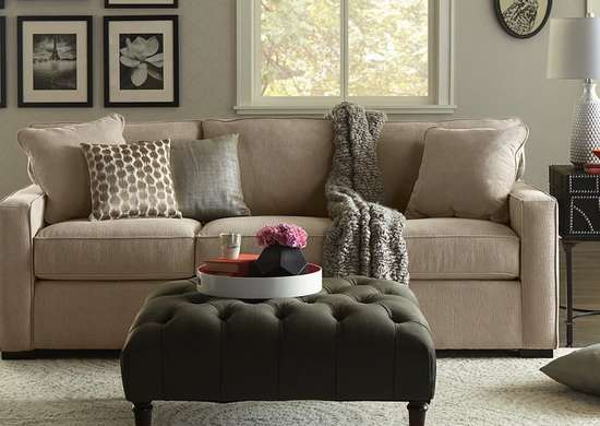 Cheap transitional sofa