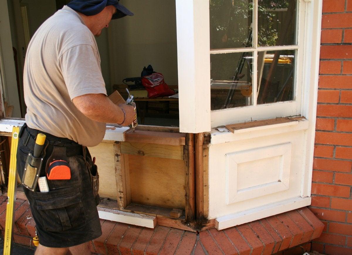 Replace windows and doors